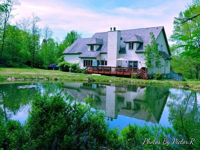 Photo for Come have your family reunion or party in a beautiful mountain setting...
