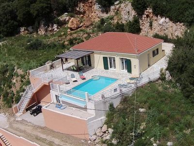 Photo for Private Villa with Pool and Sea Views