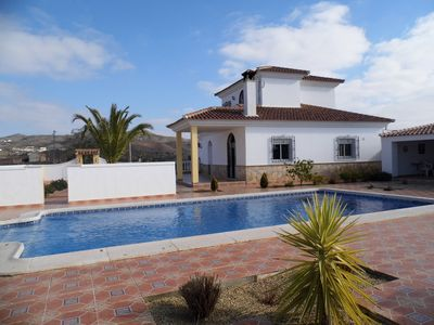 Photo for 3 BEDROOM VILLA WITH PRIVATE SWIMMING POOL AND STUNNING VIEWS IN A PRIVATE PLOT,