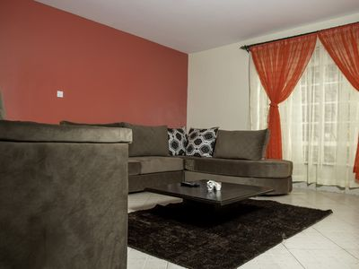 Photo for Our beautiful comfortable 8bedroom house with nice fixtures and  cool air vomfot