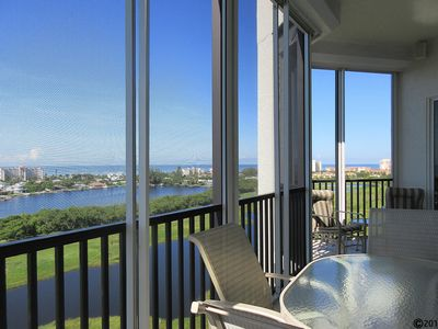 Photo for Island Paradise Waits For You! 3B/3B Executive Penthouse w/ Breathtaking Views At Waterside - Boat Slip Available!