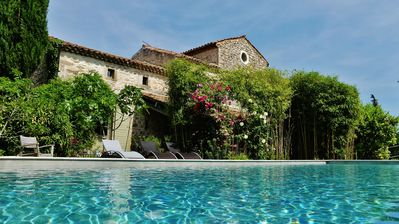Photo for Character Provencal Mas with heated pool