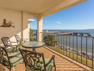 Photo for Beautiful Waterfront Condo at the St. Simons Pier