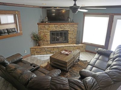Photo for Private hot tub, Luxury home, New appliances, Fenced backyard