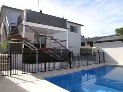 Photo for Thurlow Beach House with pool - stroll to CBD and Dutchies Beach