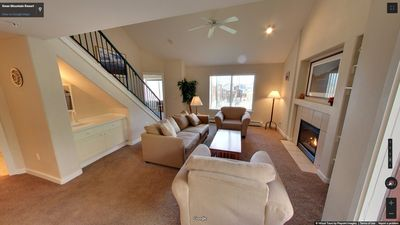 Photo for Large Summit Cove Condo -  Free WiFi, Fireplace, Hot Tub, Pool, Close to Slopes