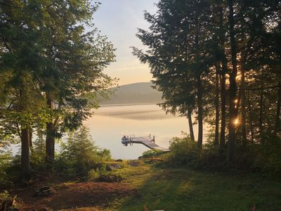 Photo for Cozy, Family Friendly, Lakefront Home In Beautiful Ellsworth, Maine