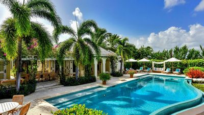 Photo for CLICK CONTACT MANAGER - SPECIAL RATES CERTAIN WEEKS - 7 bedroom beachfront Estate Villa