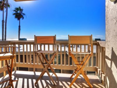 Photo for Steps to Sand!  Water Views from Every Room - Community Pool, HotTub & BBQ's - Master w/ King Bed