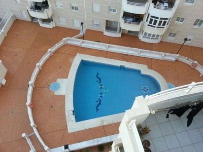 Photo for Apartment with pool, 100m from beach