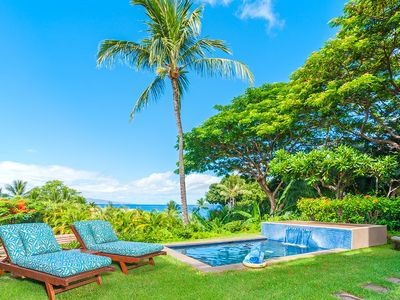 Photo for PLUNGE POOL! Coco Palms Pool Villa D101 at Wailea Beach Villas