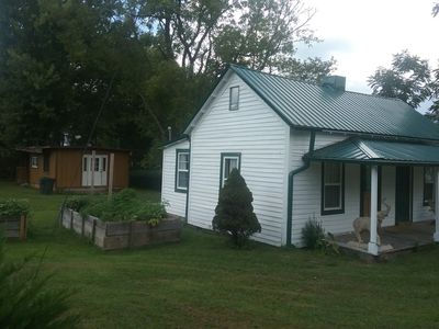 Photo for 1926 cottage in Andrews NC,  mountain views, $105 a week, EXTENDED STAY WELCOME.