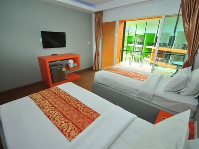 Photo for Modern Room Twin beds on Phi Phi