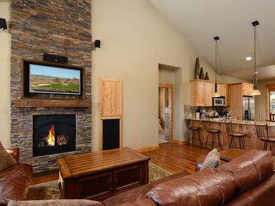 Photo for New Official Resort Listing! One Bedroom Brasada Cabin with Hot Tub