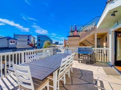 Photo for ☀️ NEW LISTING 🌊 South Mission Upper Level Family Home with Large Sunny Deck and Ocean Views