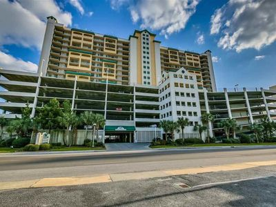 Photo for HUGE Balcony OCEANFRONT!  Walk to EAT * PLAY * SHOP!  Top  Resort + LAZY RIVER!