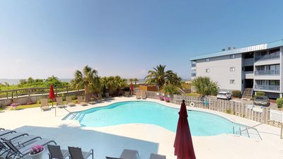 Photo for Bay View Villas - Unit 103 - Water Front - Swimming Pool - Tennis - FREE WiFi