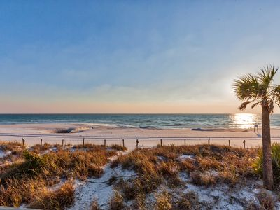 Photo for AMAZING VIEWS FROM THIS TWO STORY TOWNHOUSE RIGHT ON THE BEACH!!!!!!