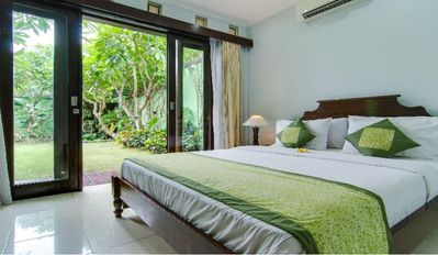Photo for 6 Bedroom, 2 Villas, 2 Private Pools, central Seminyak, Staff service