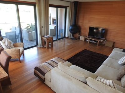 Photo for 2 bedroom Penthouse Margarida Apt with Jacuzzi on Vale do Lobo royal 12th green