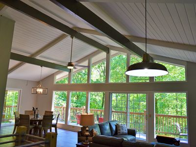 Photo for Beautiful fully renovated chalet home nestled in the Great Smokey Mountains~