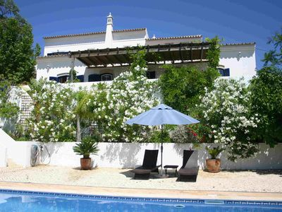 Photo for A beautiful ,charming four bedroom villa, with private garden and swimming pool