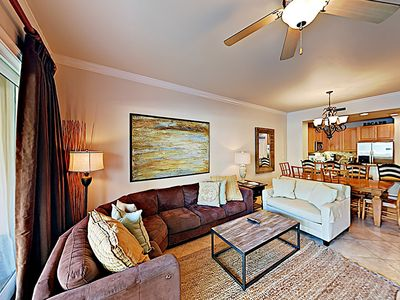 Photo for Ground Floor Corner Unit! Walk to the Pool from Your Balcony! Incredible Resort Amenities
