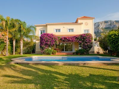 Photo for This 5-bedroom villa for up to 8 guests is located in Denia and has a private swimming pool and Wi-F
