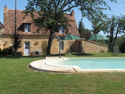 Photo for Idyllic, charming, beautifully restored luxury 18th Century cottage private pool