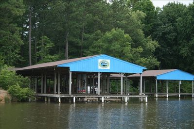 BOATHOUSE WITH ELECTRIC LIFTS