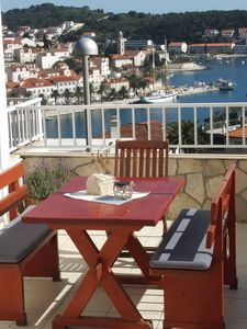 Photo for Apartment vith beautiful view in Hvar town