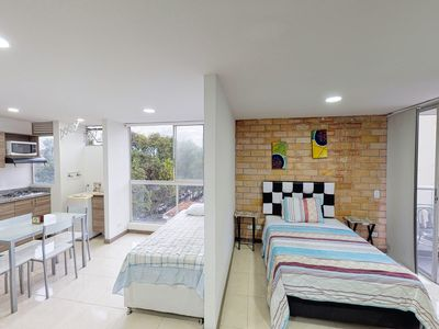 Photo for City-view studio apartment perfect for couples or a family- near attractions