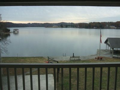 Photo for Breathtaking View from Large Lake House on Tenn River