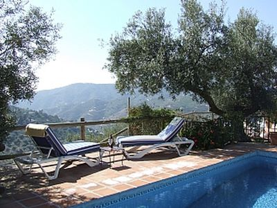 Photo for Peaceful 3 Bed, 3 bath villa with fantastic views, private heated pool & gardens