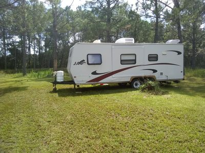 Photo for Camper with own lake view. Off I-4
