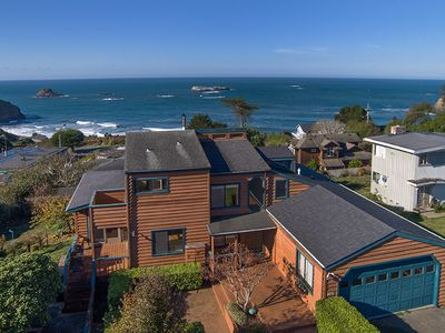Photo for Fisherman's Escape~Sweeping Ocean Views From Every Room of This Beach Home!