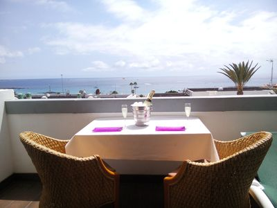 Photo for Azahara Beach, Best view from  410 and best location in Tenerife