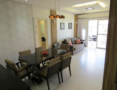 Photo for Beautiful apt with sea view, balcony, barbecue, service beach and 3 pools