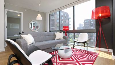 Photo for Luxury 2 Bed 2 bath! Doorman Gym Swimming Pool Roofdeck! 5143
