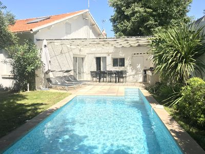 Photo for Ideal villa for 9 with 4 bedrooms, 3 bathrooms, swimming pool, private parking.