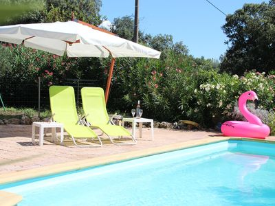 Photo for Studio 1-3 people access swimming pool calm in Lorgues, Le Petit Paradis
