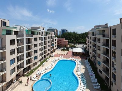 Photo for One Bedroom Apartment with Balcony