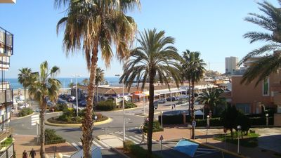 Photo for Apartment very large and spacious terrace overlooking the sea