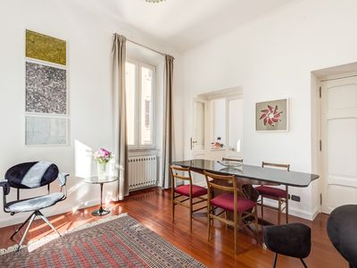 Photo for Art & Design - Trastevere Big Apartment for 6/9 guests