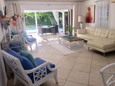 Photo for CocoVilla - Luxury Boutique, 3 Bed Villa, Gated Community, St James, Barbados