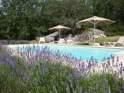 Photo for Property ENTIEREMENT PRIVATIVE on 4 hectares !!! Heated pool-great luxury