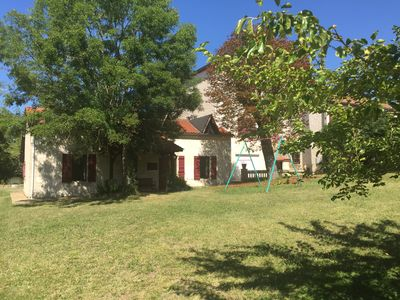 Photo for Comfortable secluded countryside Gite and heated swimming Pool in 17 hectares
