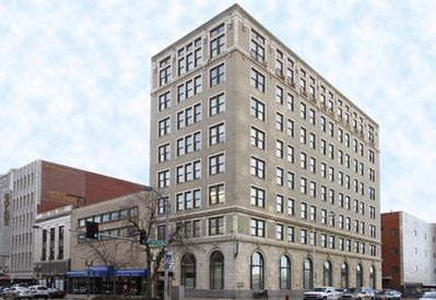 """This is the building, it is named """"The Lincoln Building"""". In downtown Lincoln."""