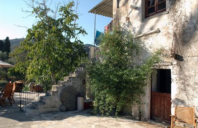 Photo for Country house of unique character and charm just outside the village of Halki