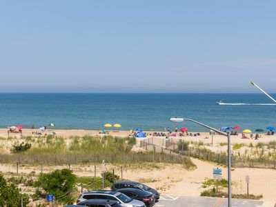 Photo for Oceanview condo w/ balcony, beach access & shared pool!